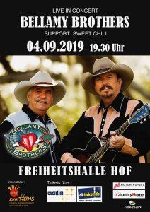 The Bellamy Brothers - Hof @ Freiheitshalle Hof