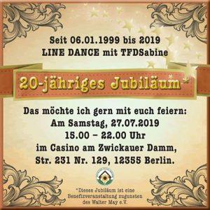 20 jähriges LD Jubiläum - Berlin @ Casino am Zwickauer Damm