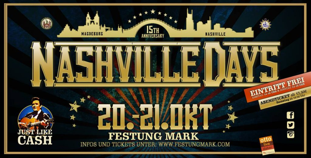 3. NASHVILLE DAYS - Magdeburg @ Festung Mark