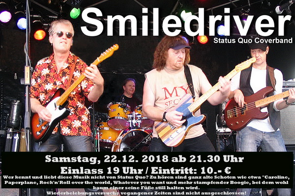 Smiledriver – Status Quo Coverband - Berlin @ American Western Saloon