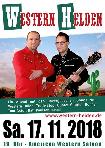 Western Helden - Berlin @ American Western Saloon